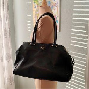 Kate Spade Black Leather Shoulder Bag